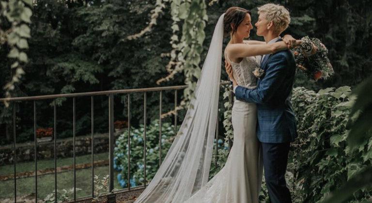 Lace wedding dress - Edmonton - wedding dress store - The White Gallery