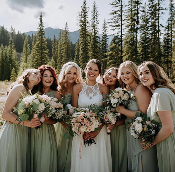 Bridal Party - Wedding Gown - Edmonton - Bridal Boutique - The White Gallery - Jena Lee Photographs
